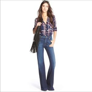 7 For all Mankind Ginger High Rise Flare Jeans 26